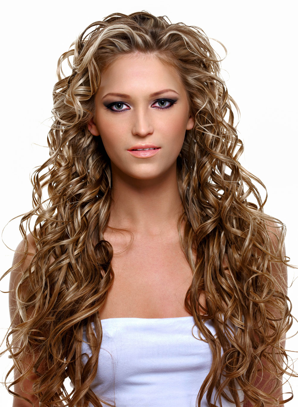 Frisuren Lange Haare Locken Blond Locken Frisuren Fur Lockiges