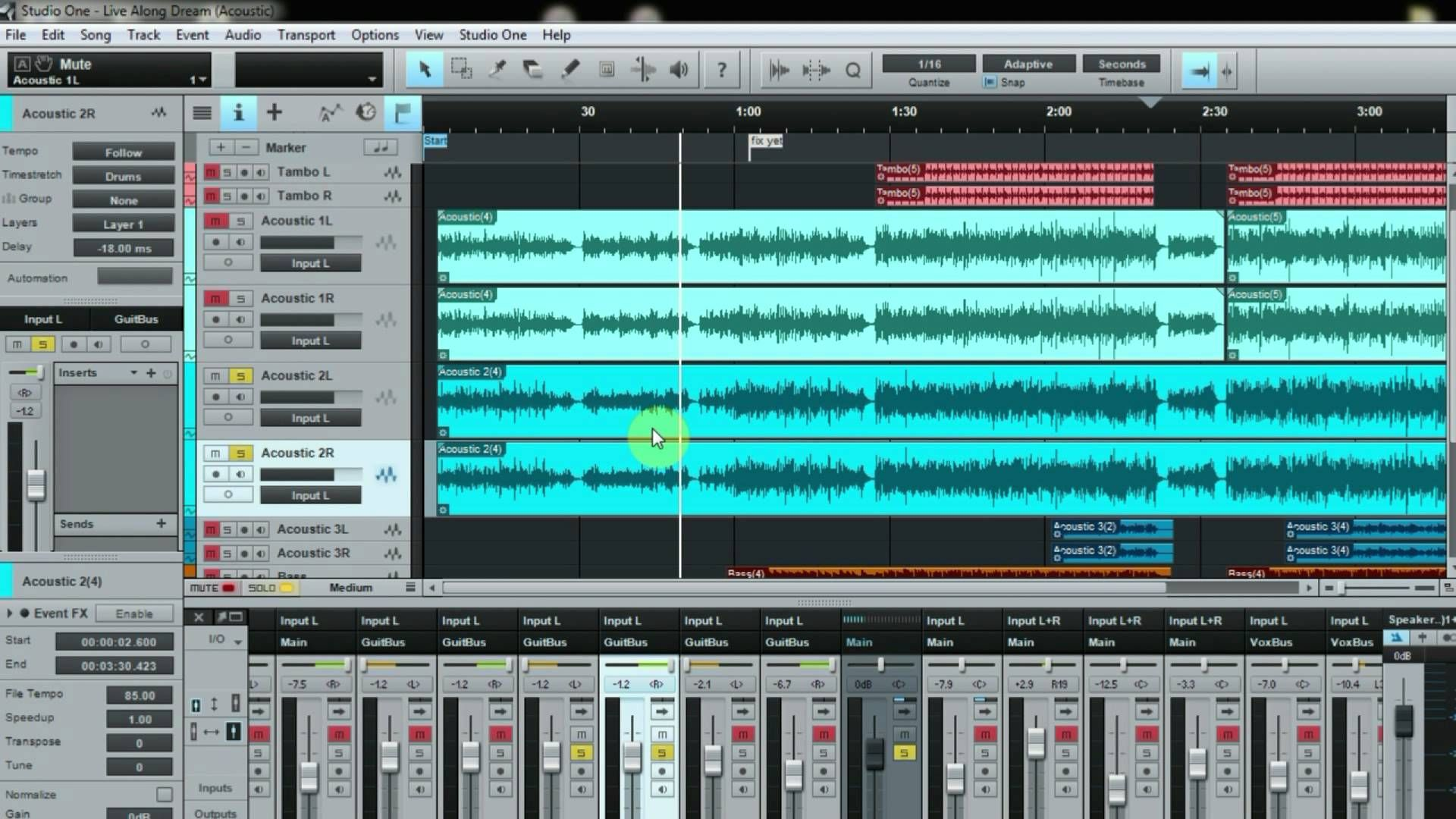 Studio One 2 How To Get Full Acoustic Guitar Sound Acoustic Guitar Acoustic How To Get