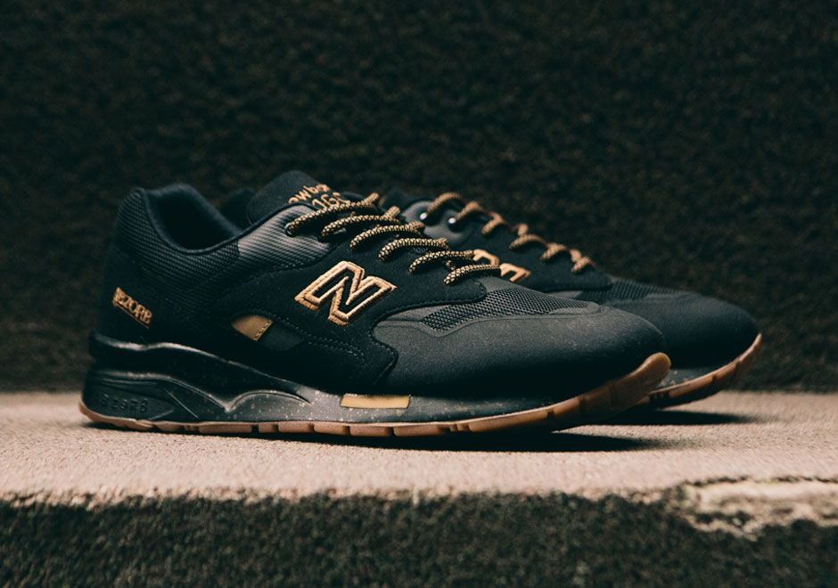 eb6a0b0ac The New Balance 1600 in Black/Gum | Kicks | New balance, New balance ...