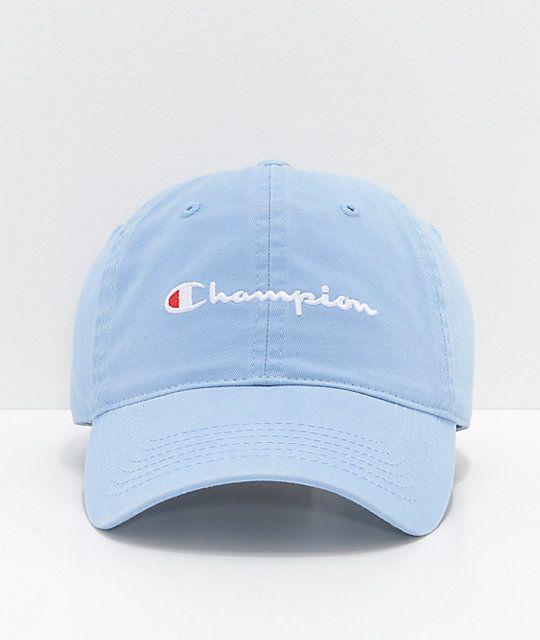 Champion Upstate Blue Strapback Hat in 2019  96111ba88e3