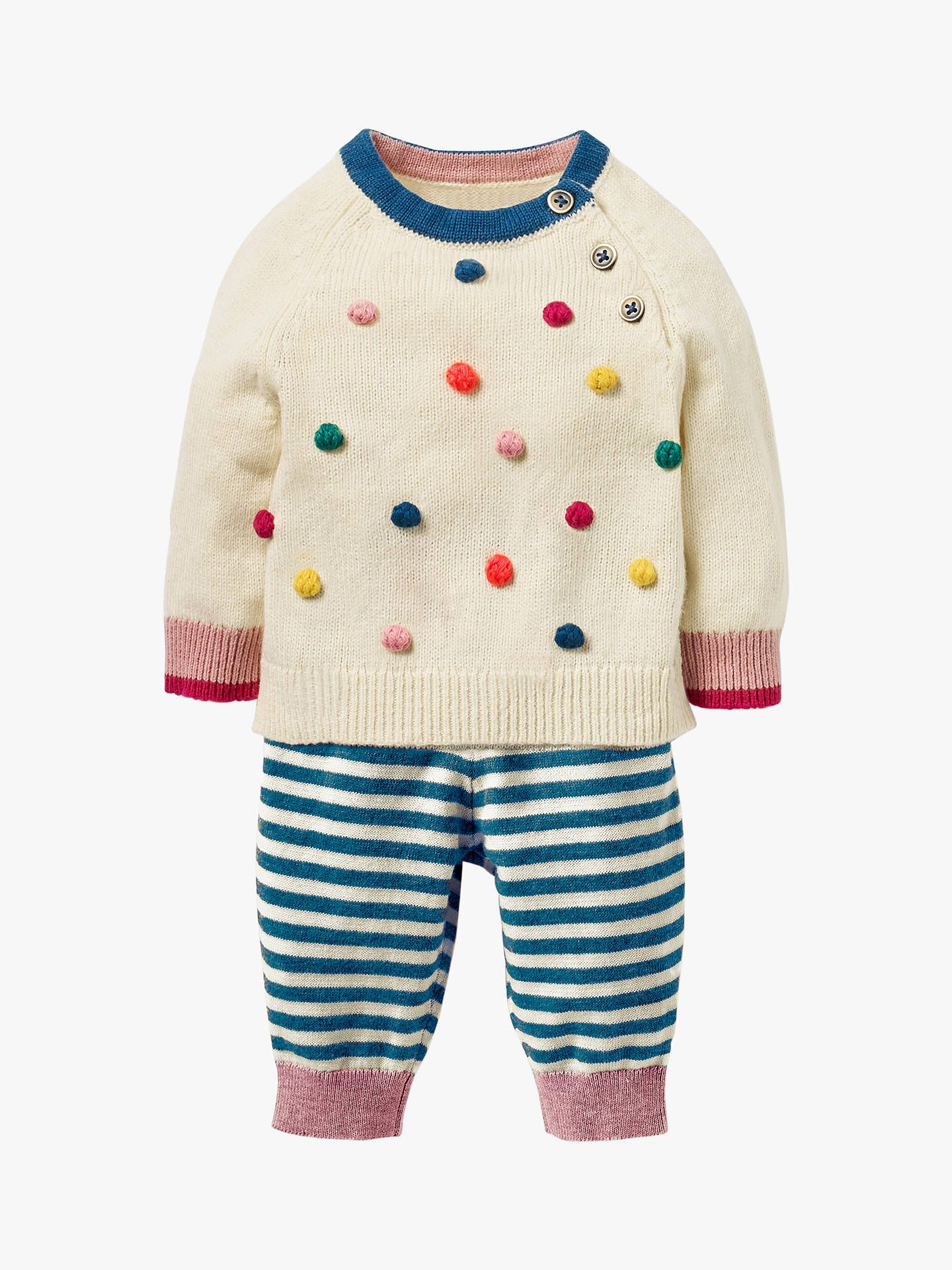 ce891f269d00 Mini Boden Baby Knitted Jumper and Legging Set