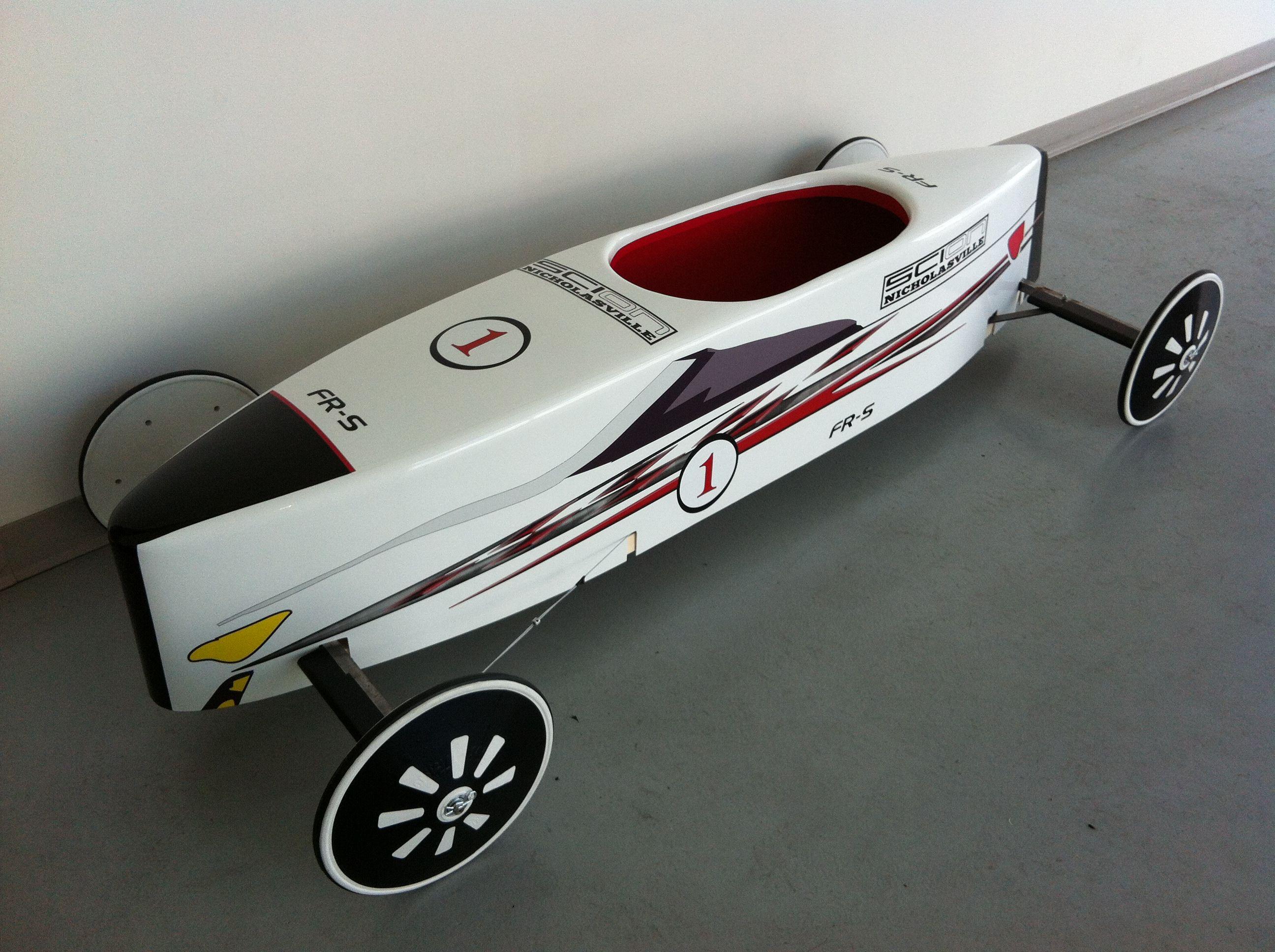 Toyota scion soap box derby car