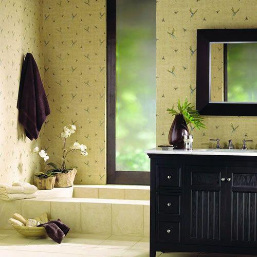 Inspirational Bathroom Wallcovering Ideas by York | York ...