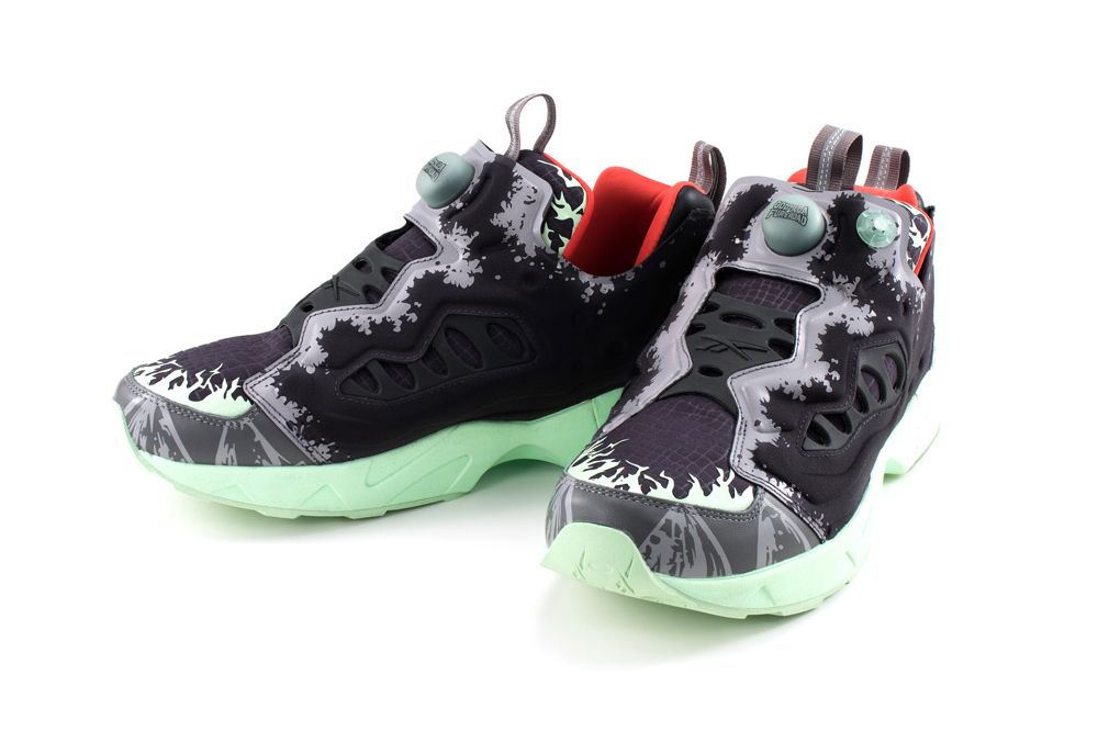 e97dbe2862c09 atmos and Megahouse Went All out for These Godzilla-Themed Reebok Instapump  Fury Road Sneakers