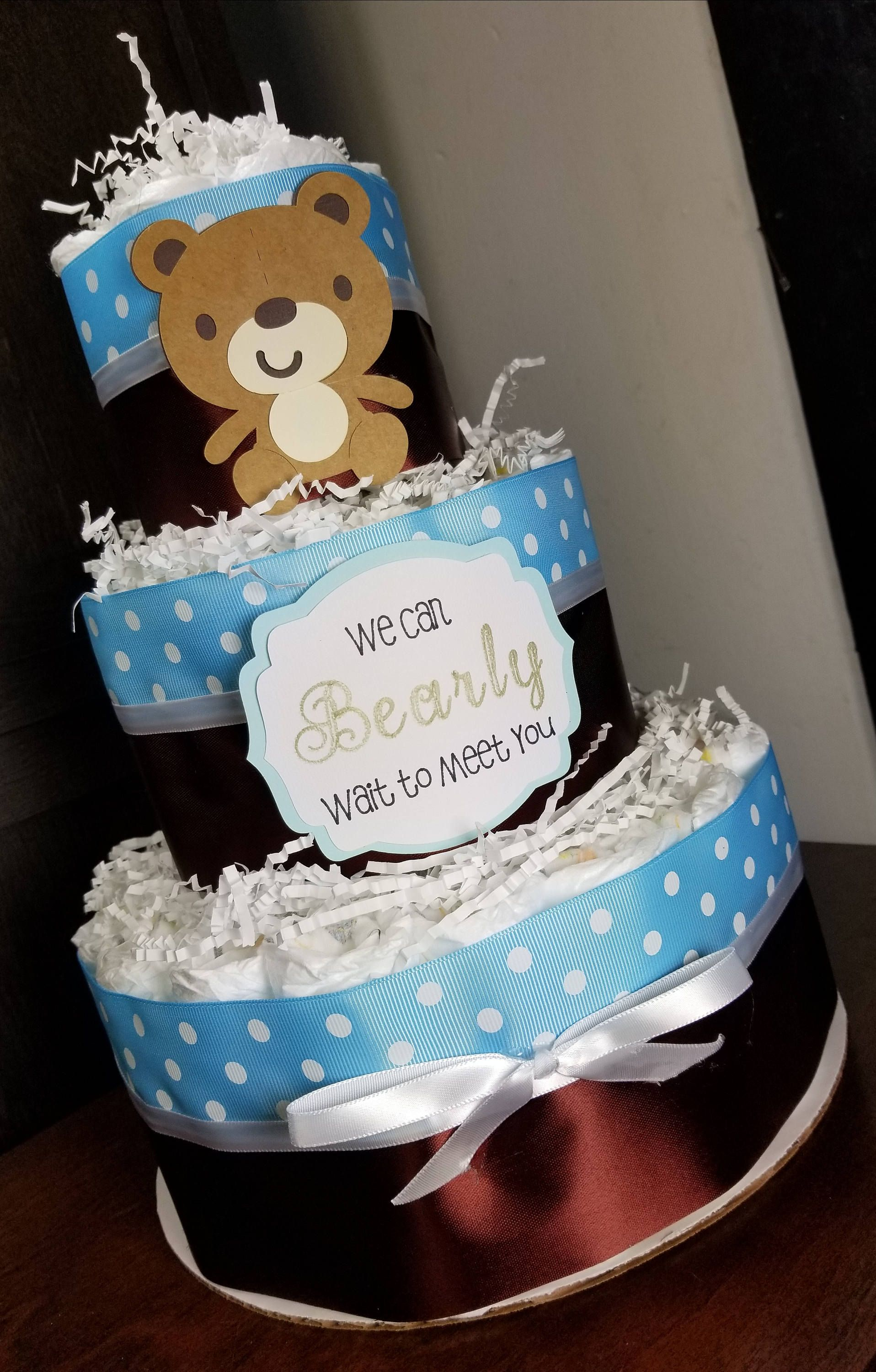 baby boy diaper cakes for sale