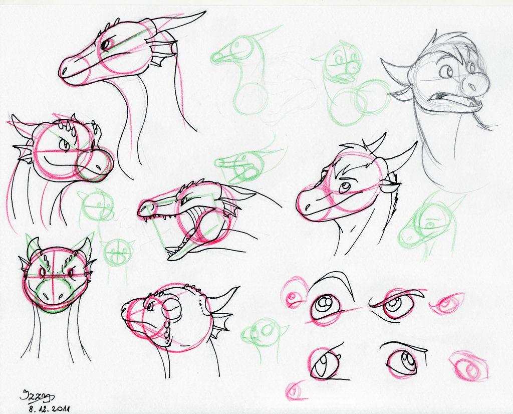 Dragon Head Tutorial By Natsuakaiiantart On @deviantart