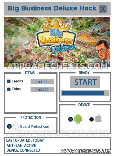 Big Business Deluxe Hack for Credits and Coins & Review