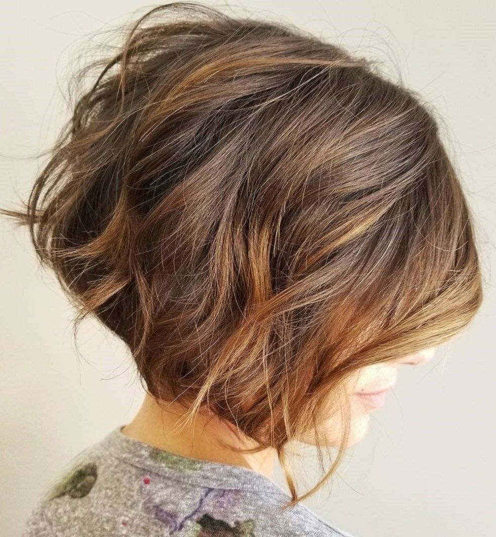 best short bob haircuts and hairstyles for women brunette color