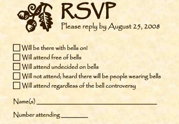 Q A W Wendy The Wedding Planner Our Rsvp Date Has Come And Gone
