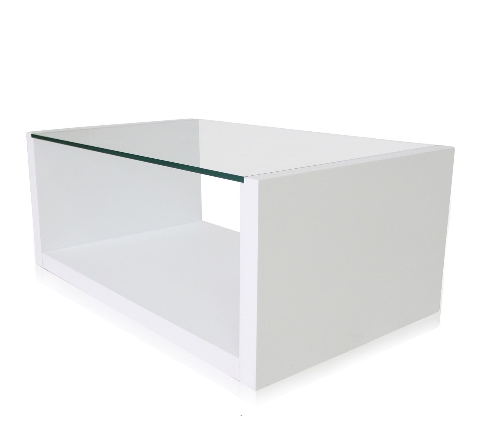 Walter Glass Modern Coffee Table Minimalist Style