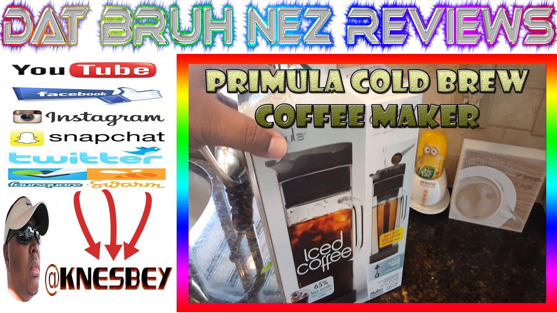 PRIMULA COLD BREW COFFEE MAKER Cold brew coffee maker