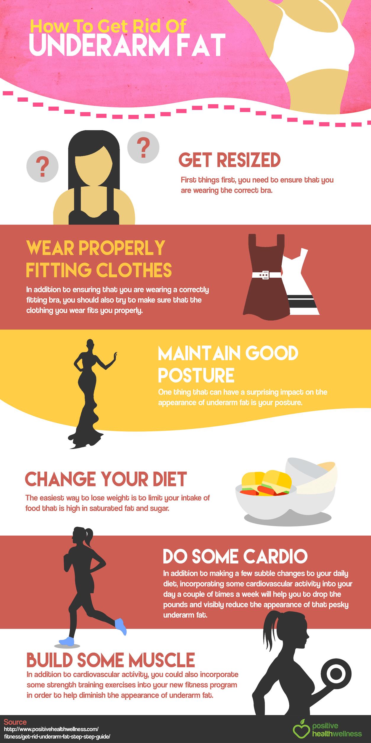 How Do I Lose Underarm Fat