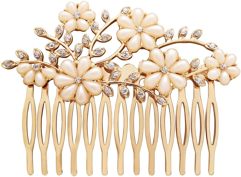 Haarschmuck - Flowers | Haarschmuck, Haarschmuck braut