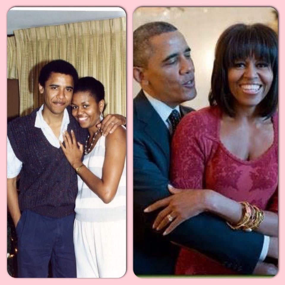 Image result for barack obama wife tbt