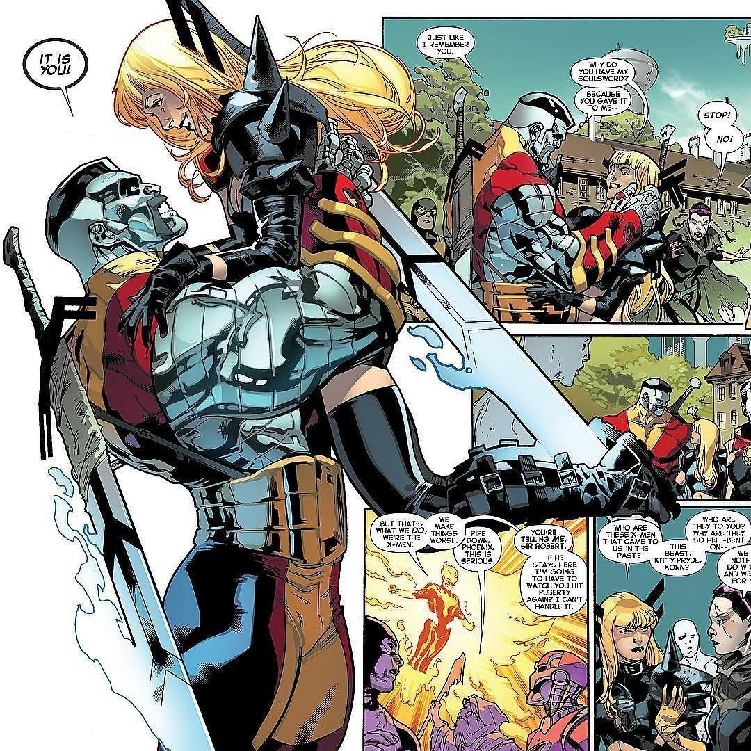 One Of My Favorite Panels Future Colossus And His Baby Sister Magik All New X Men 17 Stuartimmonen Download Images At Nomore Colossus Marvel Thor Marvel