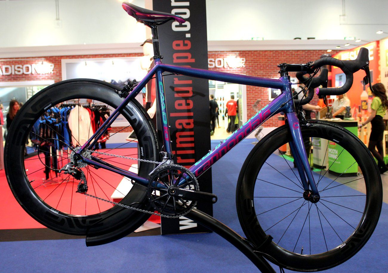 London Bike Show 2015 Parlee, Enigma, Cannondale, Canyon