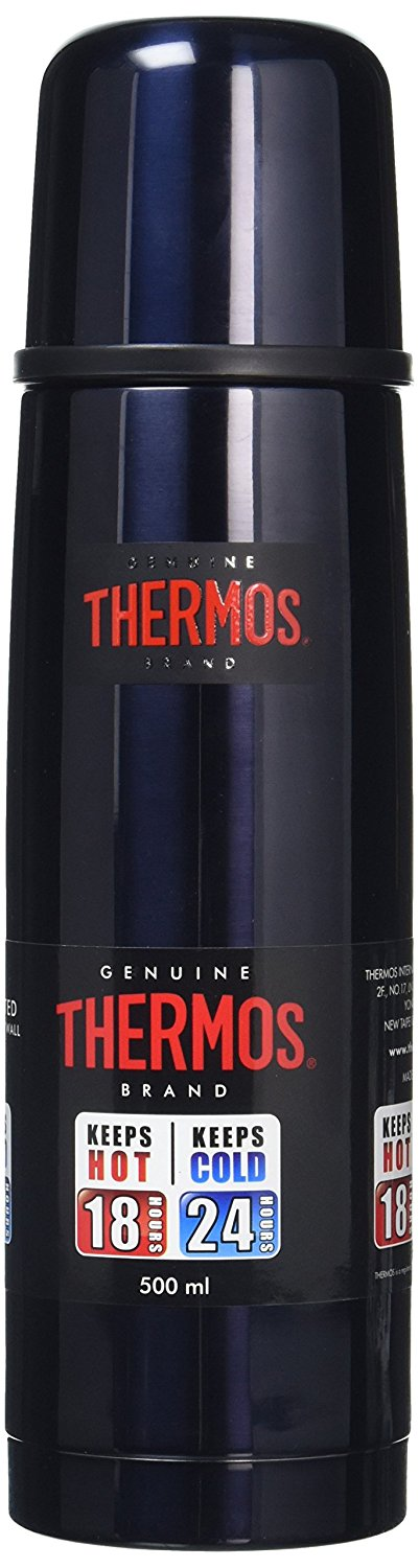 Thermos Light and Compact Flask 500 ml Midnight Blue