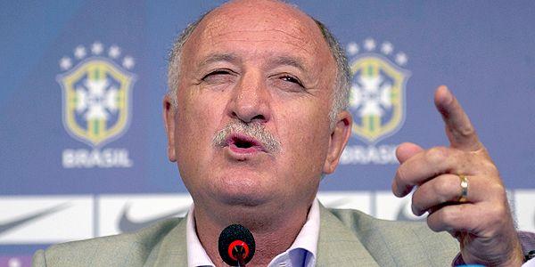 CBF define Panamá e Servia como os rivais do Brasil antes da Copa do Mundo | Felipão pretende simular confrontos da primeira fase da Copa contra Panamá e Sérvia (VANDERLEI ALMEIDA/AFP)