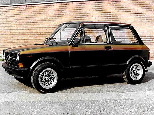 Autobianchi A112 Carrozzata Zagato Vecchie Auto Auto Vintage
