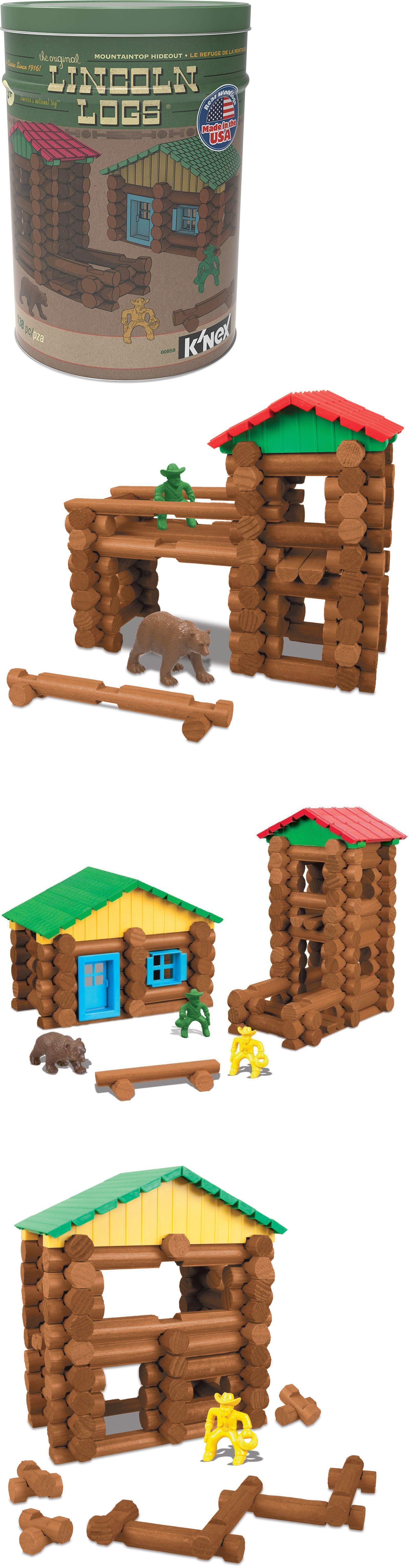 KNEX Building Toys 21254 Original Lincoln Logs Mountain