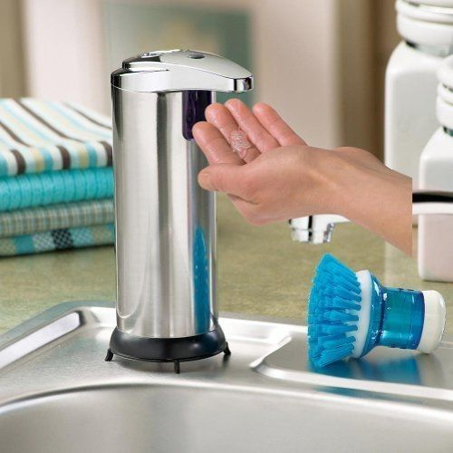 Cool Sensor Soap Dispensers For Your Kitchen And Bathroom With