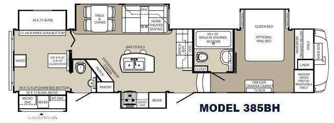 New 2015 Palomino Columbus F385bh Fifth Wheel At Campers Inn