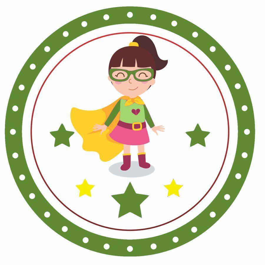 Odznaki Na Dzien Dziewczyn Do Pobrania I Drukowania Dla Dzieci Rodzicow Nauczycieli Przedszkola I Szkol Gotowe Szablony School Decorations Badge Preschool