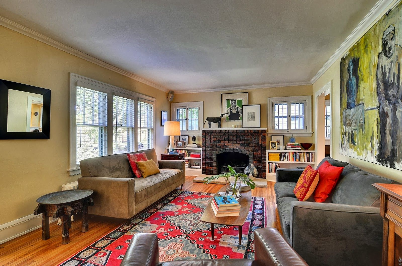 how to achieve a bohemian style for your home | living rooms