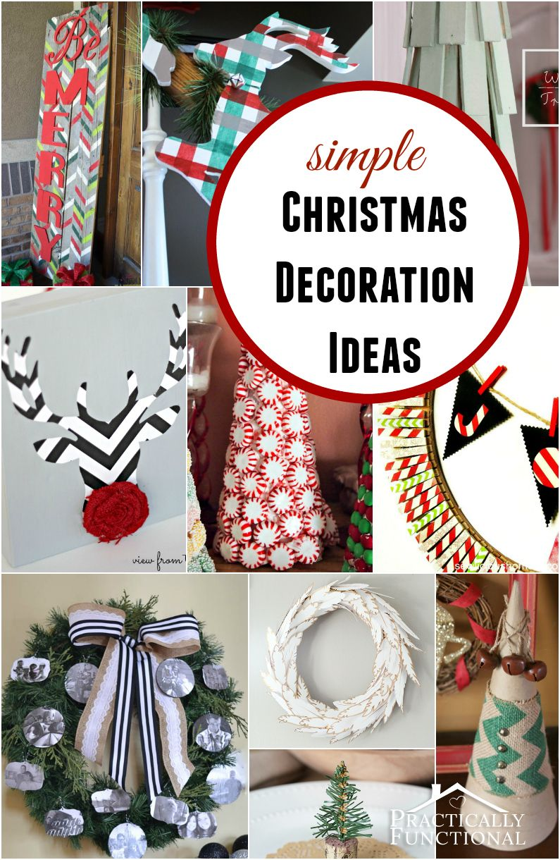 Last Minute Christmas Decorating Ideas Part - 50: If You Need Some Last Minute Christmas Decoration Ideas, Check Out These 10  Amazing Craft