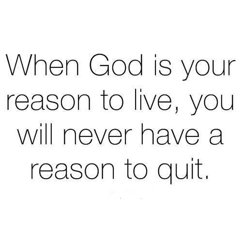 all you have, really, is God