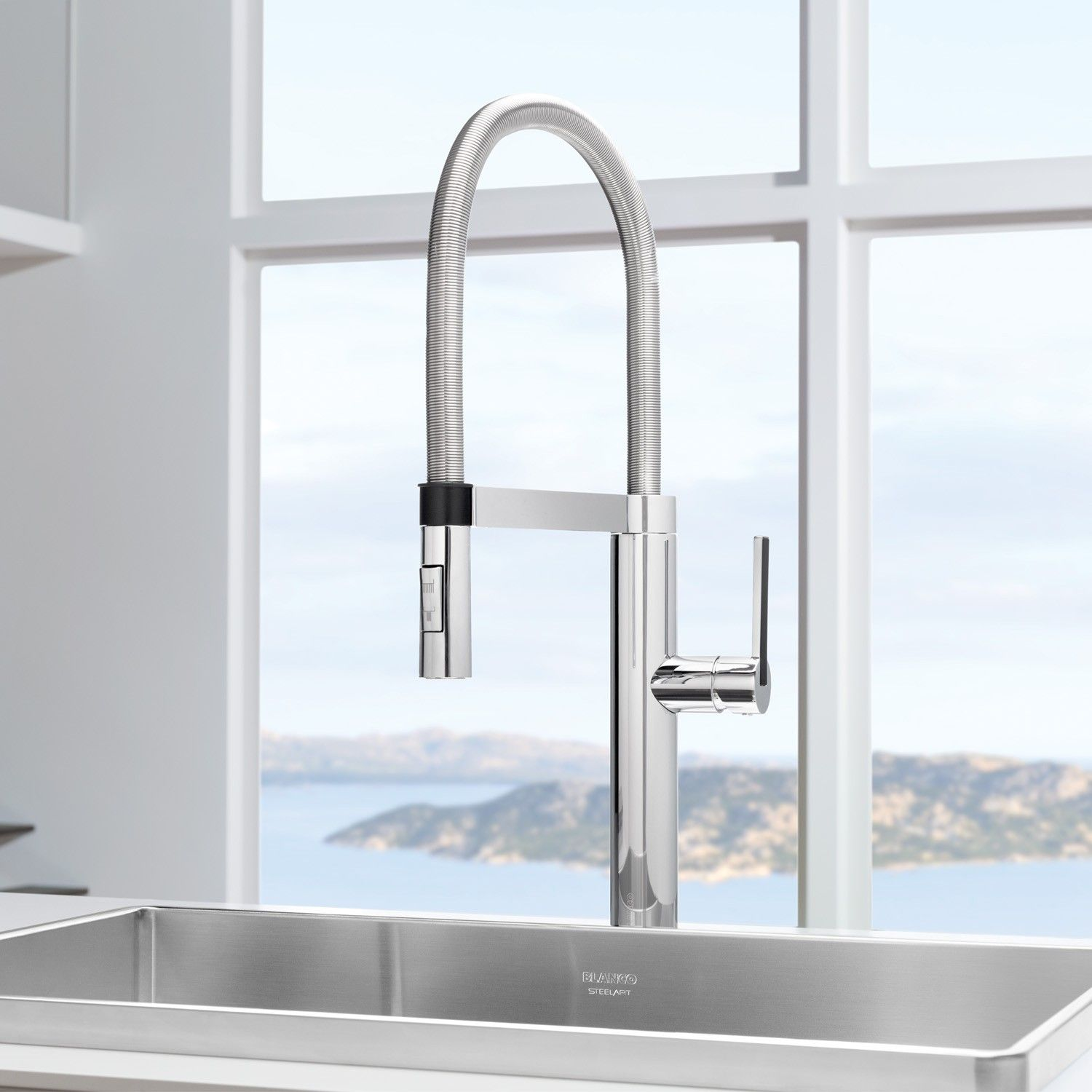 Bon Culina Semi Pro Kitchen Faucet 44133 By Blanco | YLiving
