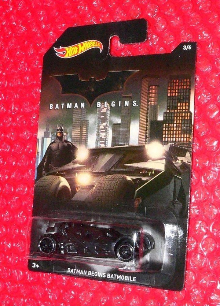 a6631a0a6b738 2015 Hot Wheels Batman Begins Batmobile #3 DFK73-0910 #HotWheels ...