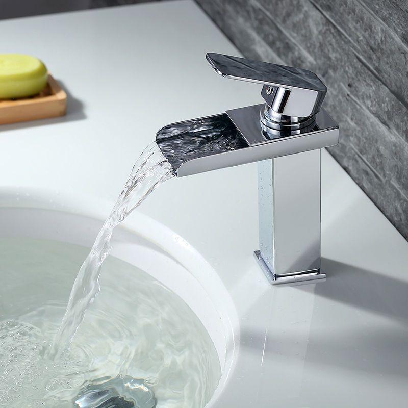 Waschtischarmatur Wasserfall Wasserhahn Messing Armatur Einhand Mischer F Bad Waschtischarmatur Wasserfall Wasserhahn Wasserhahn