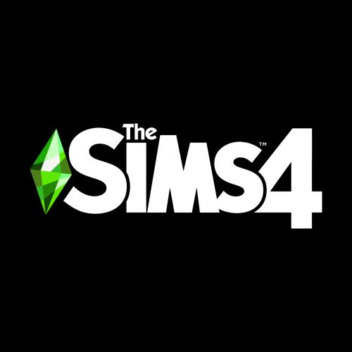 The Sims 4 Logo White In 2021 Sims 4 Sims Logos