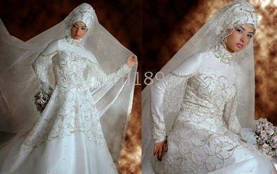 American Muslim Wedding Dress