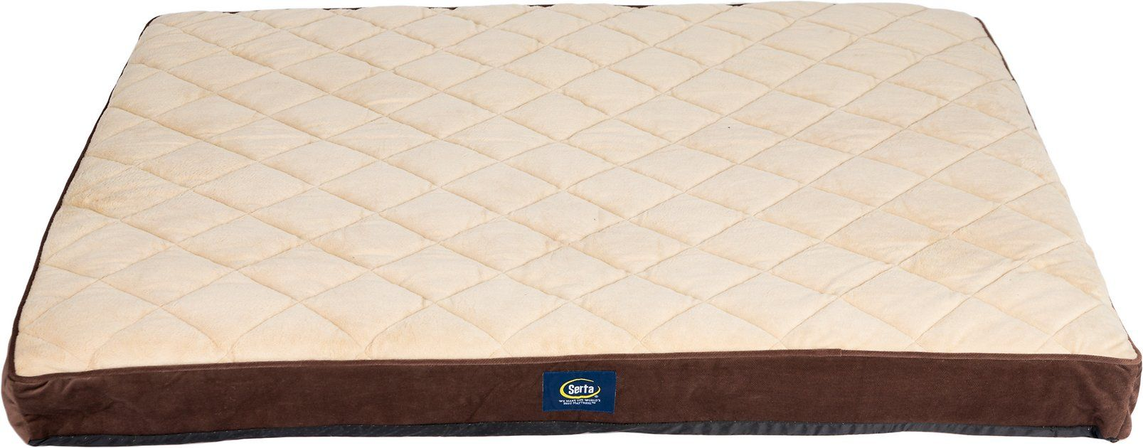 Buy Serta Orthopedic Quilted Pillowtop Dog & Cat Bed