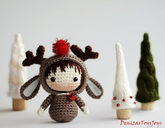 Decora la Navidad con amigurumis | Mil ovillos | variedad de muñecas ...