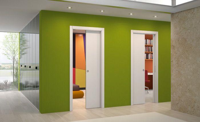 Portes Galandage Deco Penty Pinterest Porte Galandage - Porte placard coulissante et porte d intérieur design pas cher