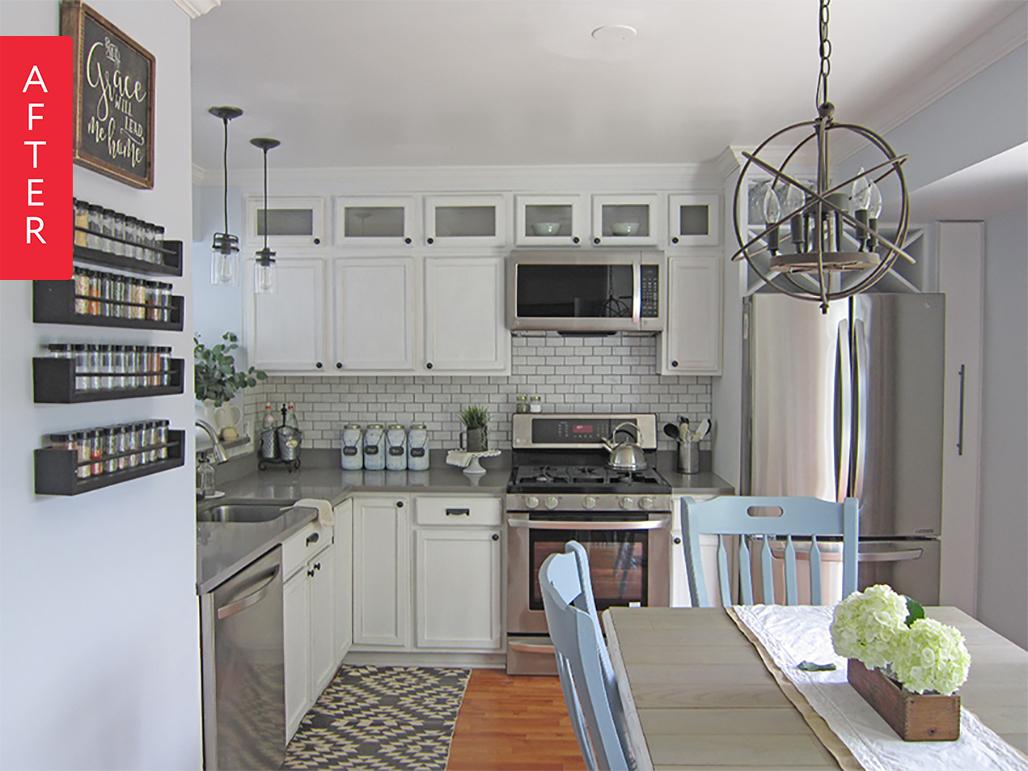 Küchenideen für wohnmobile before u after a bright kitchen upgrade  wohnen