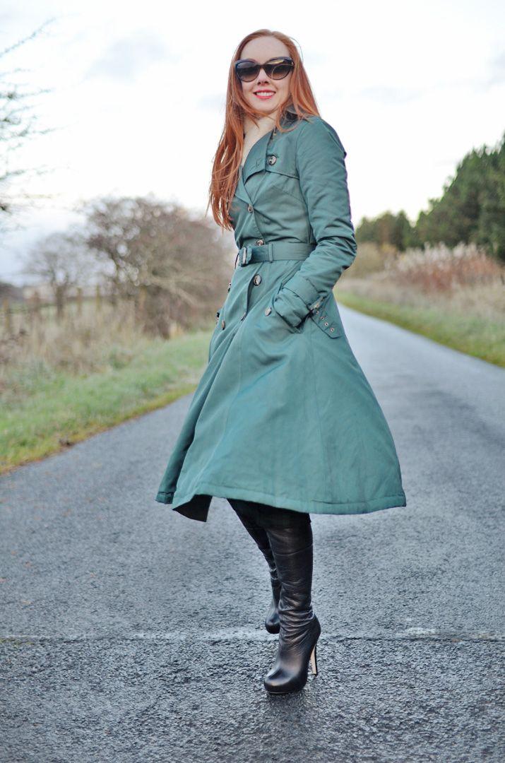 Trench coat love sex money coats, black leather alexander mcqueen boots