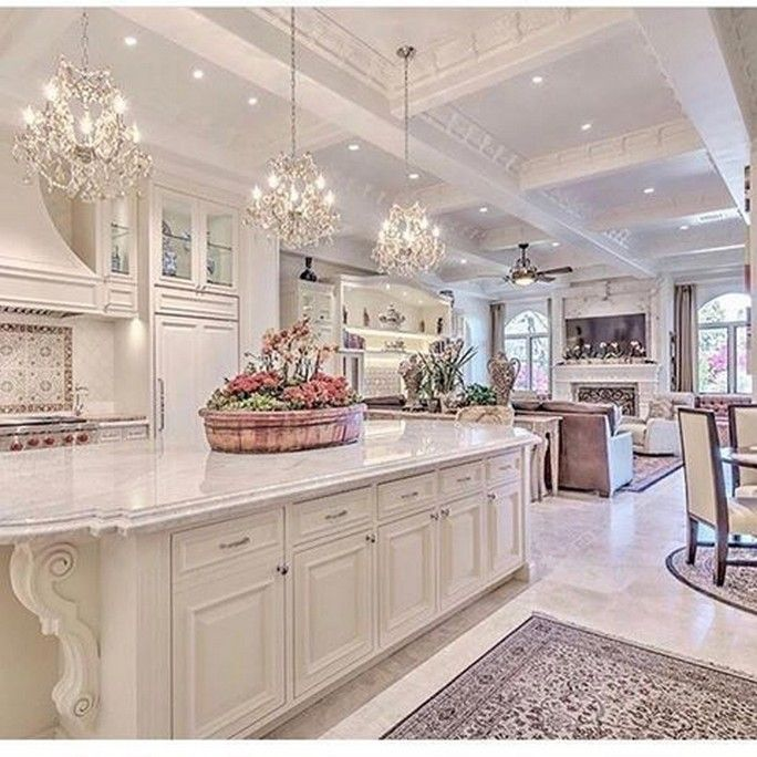 10 Kitchen Luxury Design Modern Dream Home Ideas For 2020 4 Luxury Kitchens White Kitchen Design Home Decor Kitchen