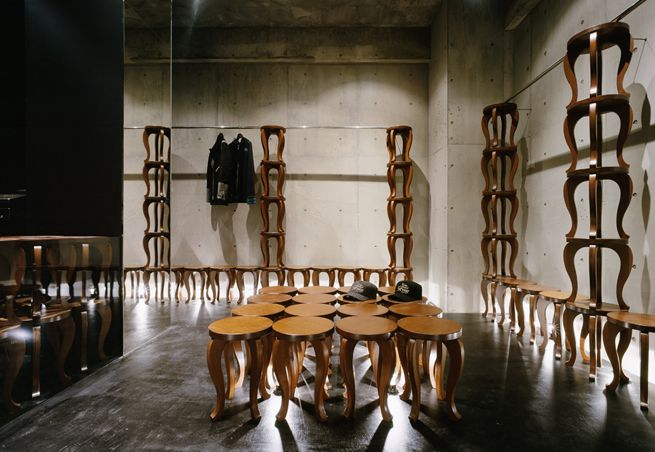 Seesway Store by Nendo