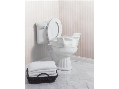 Moen Elevated Toilet Seat With Handles Toilet Toilet Seat