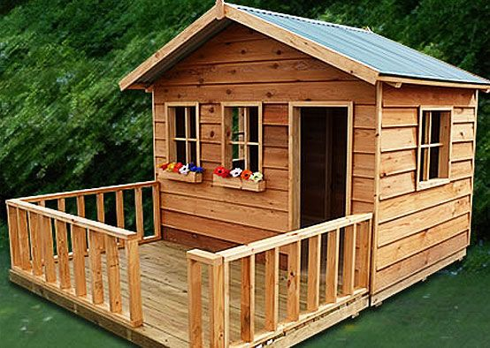 build a club house with my dad for my friends and i for ...