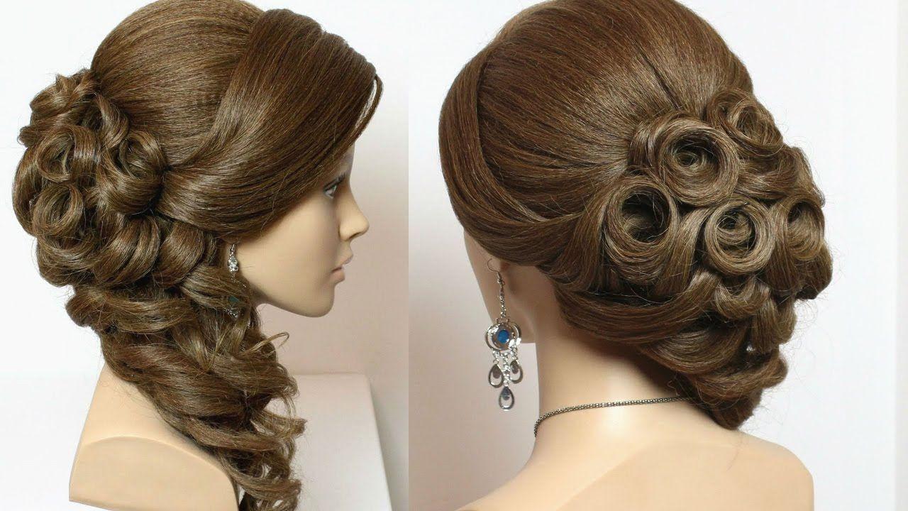 Wedding Bridal Hairstyles For Long Hair Tutorial Long Hair Updo Long Hair Tutorial Long Hair Styles