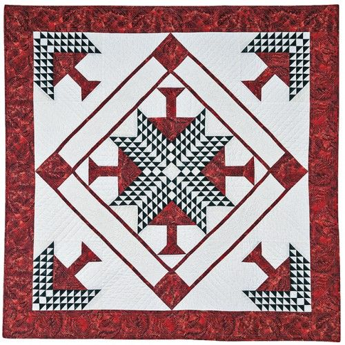 American Quilter's Society - Pine Tree Wallhanging Pattern