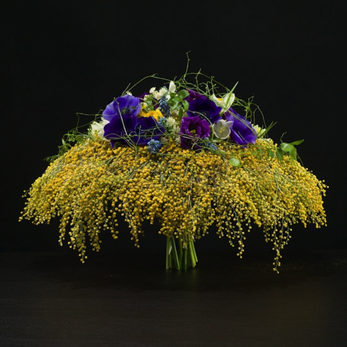 Alexan Events Acacia Flowers Floral Designs Arrangements Floral Arrangements Spring Floral Arrangements