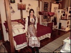 traditional Romanian bride