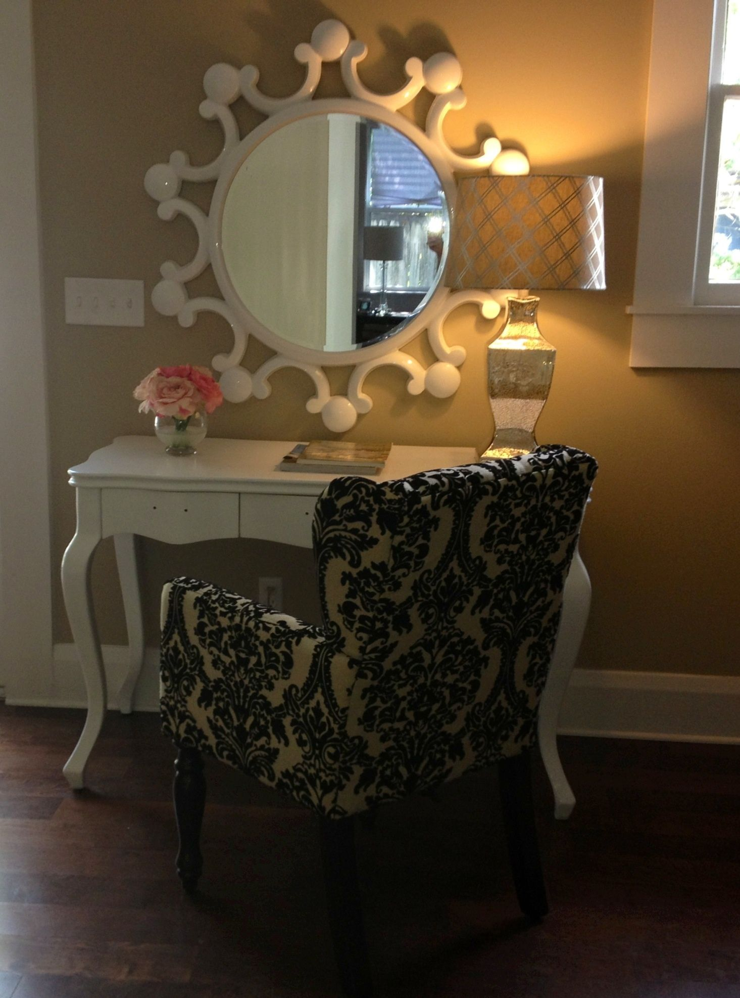 chairs at homegoods antique windsor for sale mirror and chair our home pinterest beauty