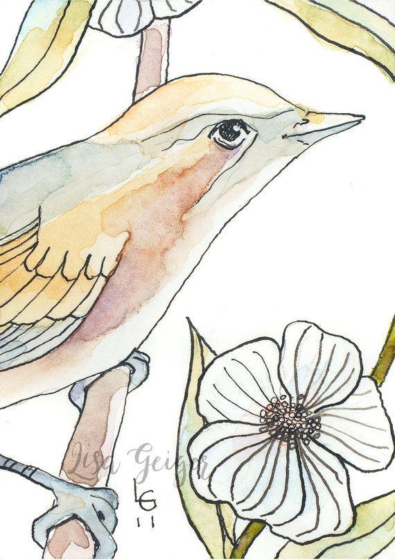 Blossom Bird No. 2